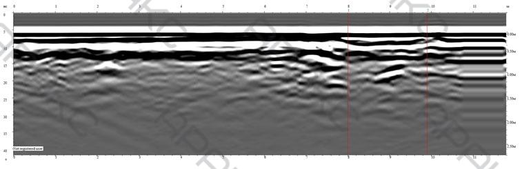 Радиограмма. Профиль 7п. Длина 12 м.