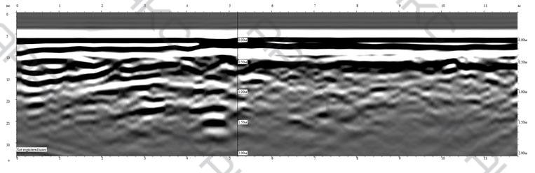 Радиограмма. Профиль 8п.
