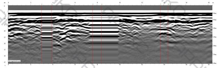Радиограмма. Профиль 3. Длина 18 м.