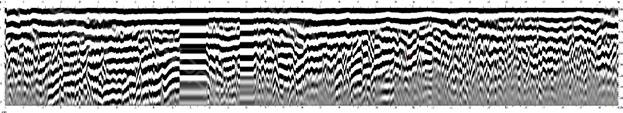 Разуплотнения слоев на радиограмме