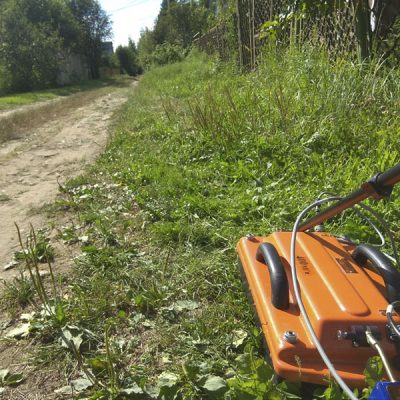 Георадарное обследование грунтово дорожного покрытия