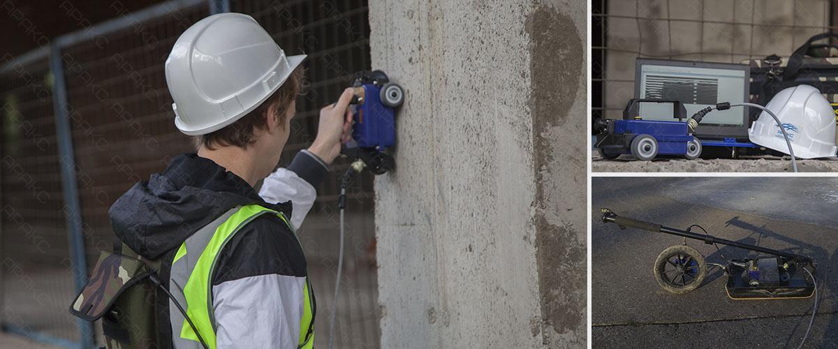 Применение бетоноскопа