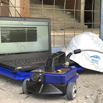 Радарограмма и бетоноскоп