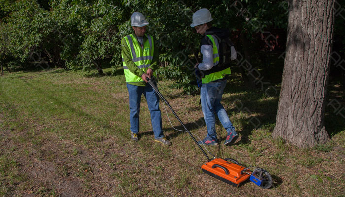 Георадарное обследование грунтов специалистами компании Аракс