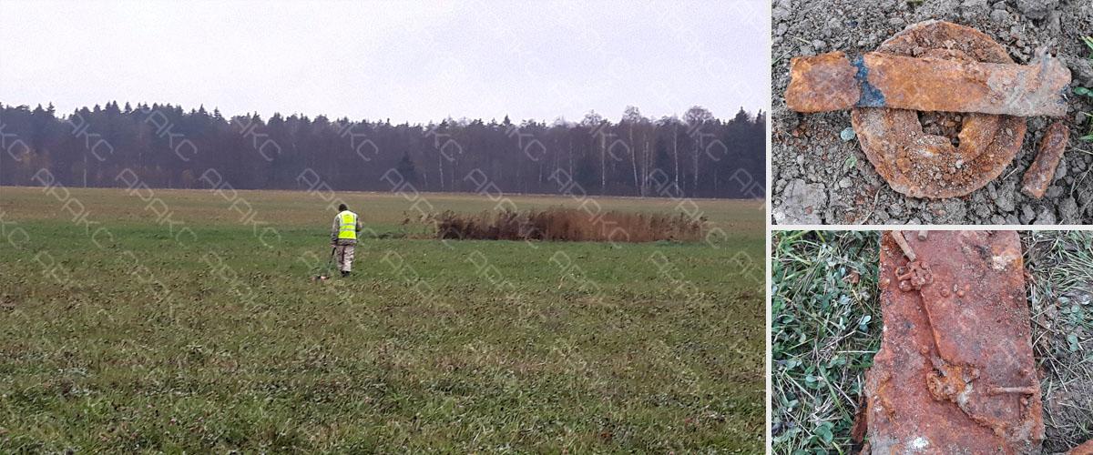 Геофизики компании «Аракс», поисковый отряд «Бумеранг-ДОСААФ», и активисты организации «Надежда» обнаружили бомбардировщика Пе-2