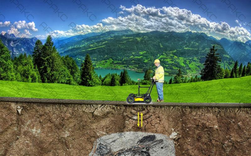 Поиск полезных ископаемых с помощью георадара