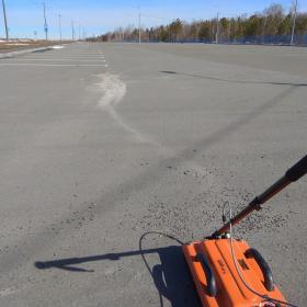 Рис. 3.21. Фотофиксация прохождения ГРЛП №83. Автостоянка.