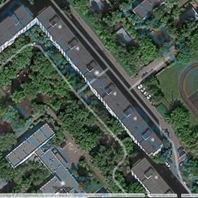 Рис. 3.2. Участок проведения обследования (космоснимок)